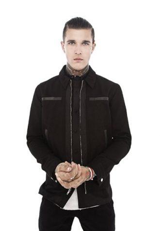 pánská černá bunda a kalhoty Beautiful Fül