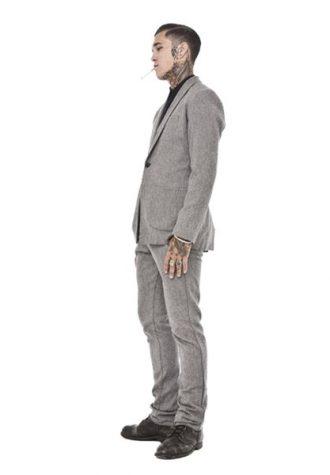 pánský šedý oblek Beautiful Fül