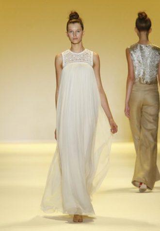 dámské bílé šaty s krajkou Adam