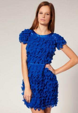 dámské modré šaty Jovonna (€ 61.54)