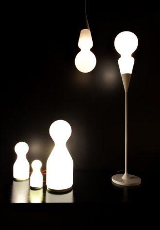 Kolekce lamp Teo pro Brokis navržené studiem Olgoj Chorchoj.
