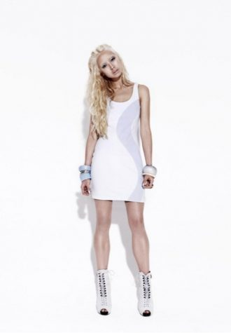 dámské bílé letní šaty Bec & Bridge
