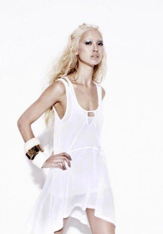 dámské světlé letní šaty Bec & Bridge