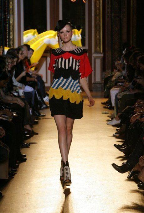 dámské volné šaty s potiskem Tsumori Chisato