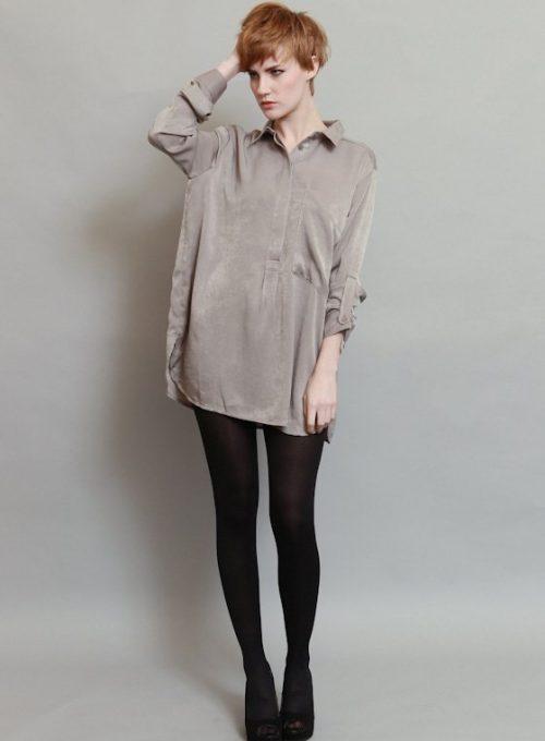 dámská šedá košile (£ 59)