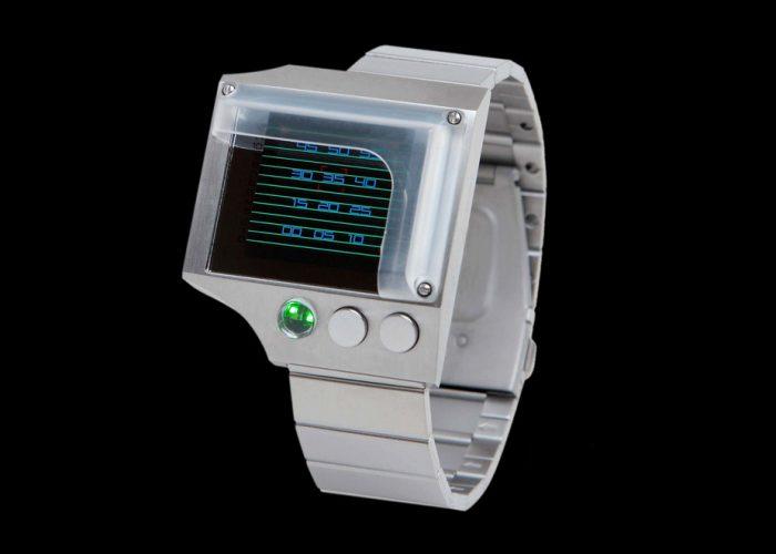 kovové náramkové hodinky s LED diodami Heart Beat