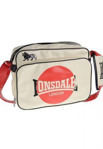 bílá taška Lonsdale (£ 11.99)