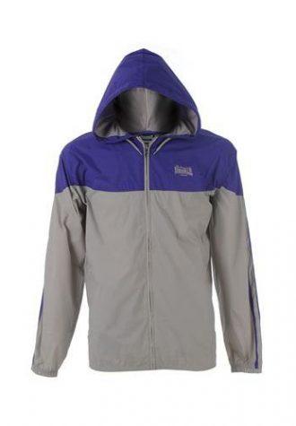 pánská fialovošedivá bunda (£ 10)
