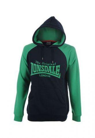 pánská zelenočerná mikina Lonsdale (£ 12.99)
