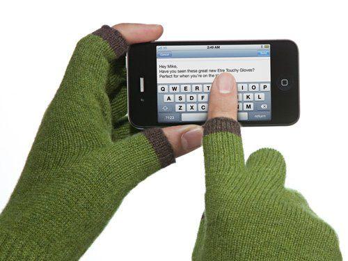 rukavice Touchy - pište si v mrazu