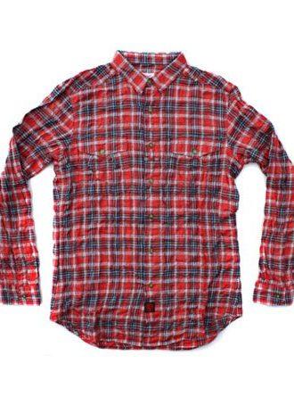 pánská kostkovaná košile Officers Shirt FDR od Garbstore (£84.99)