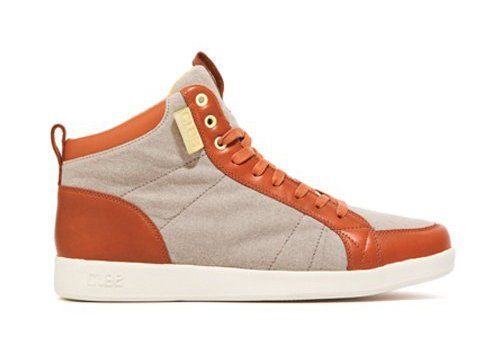 pánské béžovo-oranžové kotníčkové tenisky Clae, typ Russell (99 €)