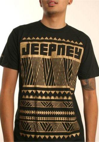 pánské černé triko s potiskem Tribal Logo ($ 18)