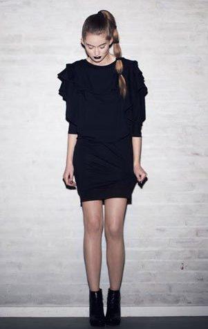 černé šaty Bibi Chemnitz