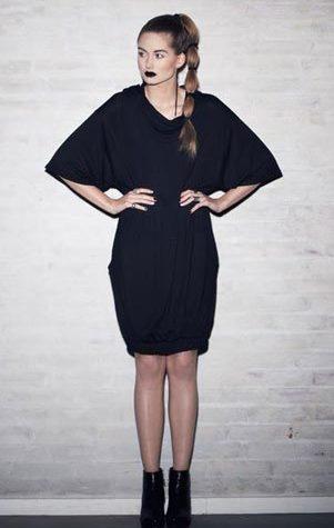 černý top:šaty Bibi Chemnitz - 3