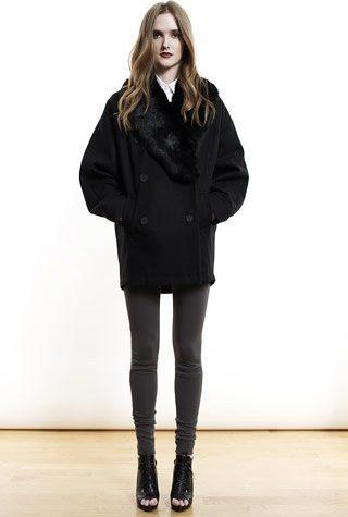 černý kabátek od Shipley & Halmos