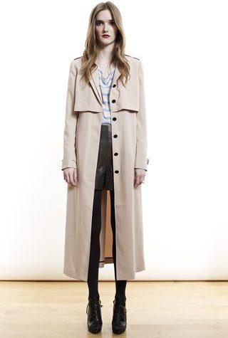 šedý plášť od Shipley & Halmos