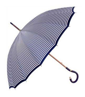 deštník Fulton Knightsbridge - Grey Stripe (25 GBP)