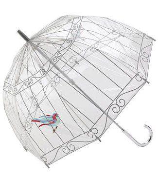 deštník Lulu Guinness Birdcage (32 GBP)