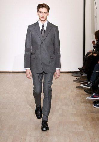 pánský šedý oblek Raf Simons