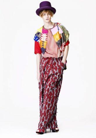 barevná kolekce Louise Gray Podzim/Zima 2010