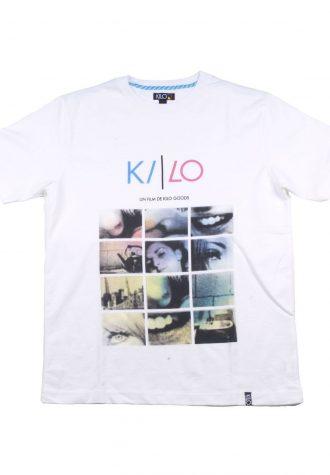 pánské bílé tričko s potiskem Kilo - Sex City ($ 24)