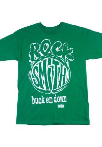 pánské zelené tričko s potiskem Rocksmith - Black Moon ($ 24)