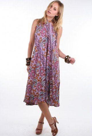 šaty Paisley (28 USD)
