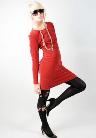 šaty Cacharel (46 USD)