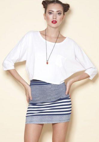 sukně Mixed Stripe (15 GBP)