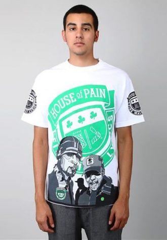 pánské bílé tričko House of Pain - Hop X DF ($ 29.99)