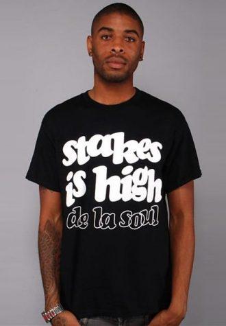 pánské černé tričko De La Soul - Stakes is High ($ 19.99)