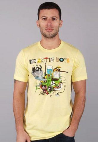 pánské žluté tričko Beastie Boys - Machine ($ 19.99)
