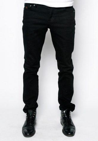pánské černé džíny CTRL, typ Thai Boy (€ 75)