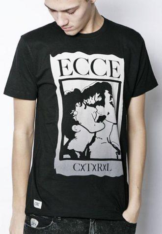 pánské černé triko s potiskem CTRL, typ Ecce (€ 29.90)