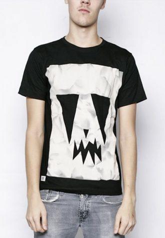 pánské černé triko s potiskem CTRL, typ Rock Paper Scissors (€ 29.90)