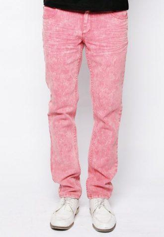 pánské růžové džíny CTRL, typ Manowar (€ 63.90)