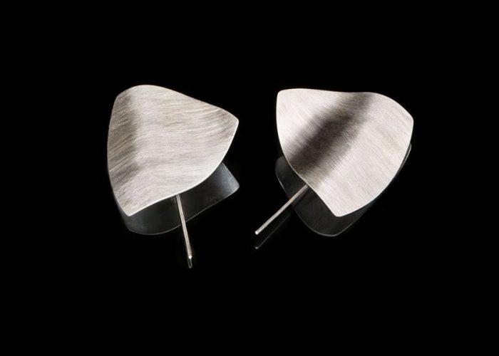 Lenka Trubačová - naušnice Listí