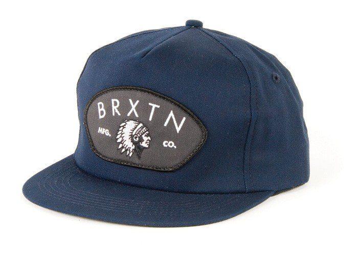 modrá kšiltovka Brixton, typ Station ($ 27)