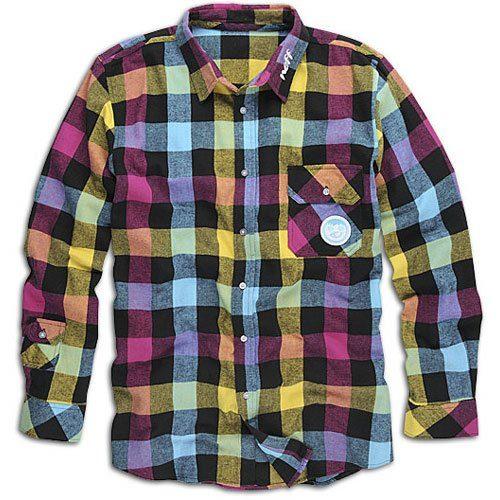 košile Neff Ltd Ed Brawnee Flannel Shirt (44.99 USD)