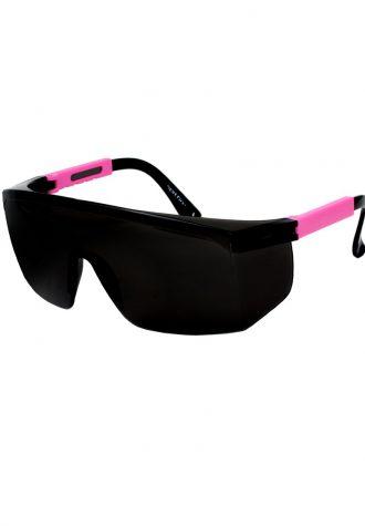 pánské sluneční brýle ASOS, typ 80's Fluro Wrap (£ 18)