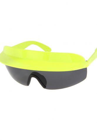 pánské sluneční brýle ASOS, typ 80's Visor (£ 18)