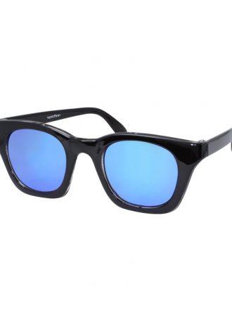 pánské sluneční brýle ASOS, typ Retro Frame Mirrored Lens (£ 18)