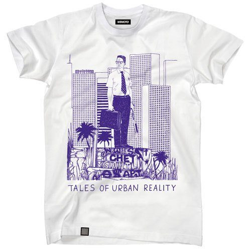 pánské bílé triko s potiskem Wemoto, typ Fallen (€ 34,90)