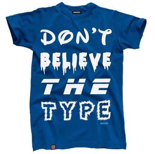 pánské modré triko s potiskem Wemoto, typ DBTT (€ 34,90)
