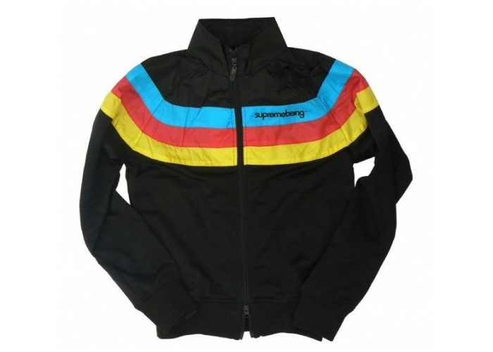 pánská černá mikina Supremebeing, typ CMYK (£ 19.99)