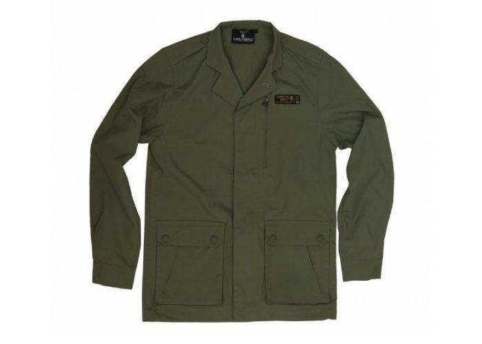 pánská khaki bunda Supremebeing, typ Olive Green (£ 29.99)
