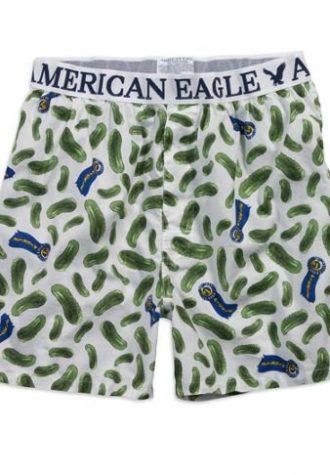 pánské trenýrky se vzorem American Eagle, typ Pickle ($ 12.50)