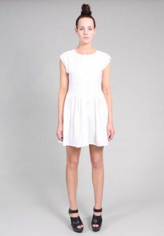 dámské bílé šaty Ramona West (55 USD)