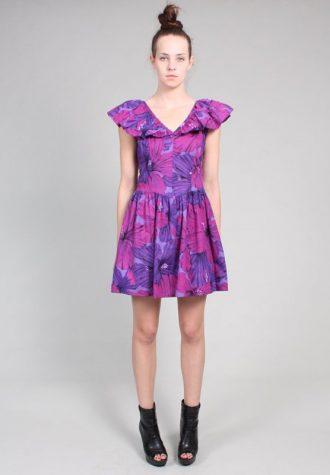 dámské modrofialové šaty Ramona West (59 USD)